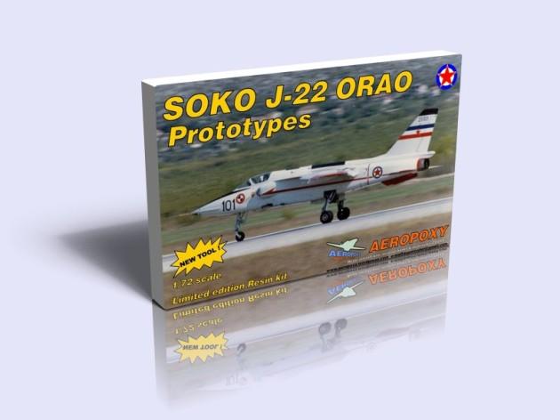 J 22 Orao Prototypes Aeropoxy 72