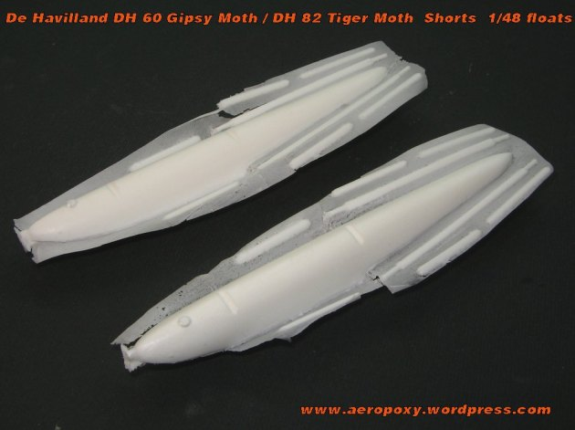Gipsy-Tiger Moth floats