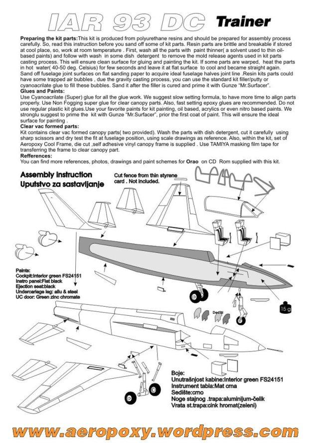 IAR 93 DC uputstvo 2015