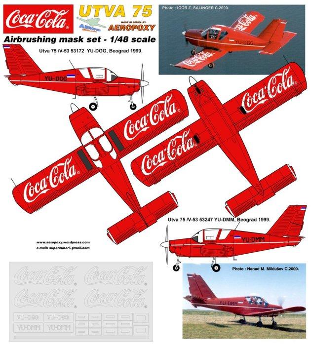 CocaCola UTVA 75 AEROPOXY