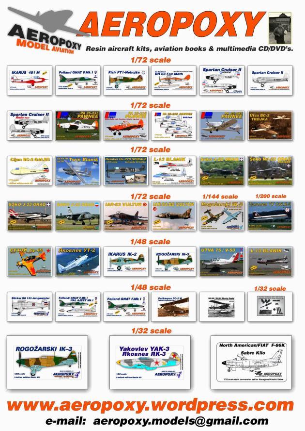 AEROPOXY 2016 range FB